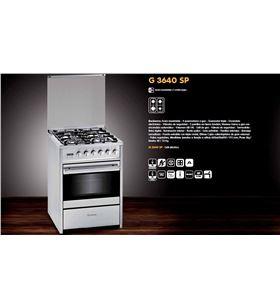 Meireles cocina convencional g3640spxnat, 4 fuegos, natural