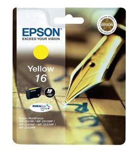 Cartucho tinta Epson c13t16244010 amarillo