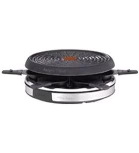 Raclette inox & design, Tefal re1278, 850w, 6 com re127812
