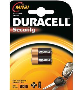 Braun pilas duracell mn21, lrv08, alcalina, 12v, mando a mn21(3lr50)
