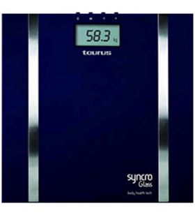 Bascula baño Taurus syncro glass 990537
