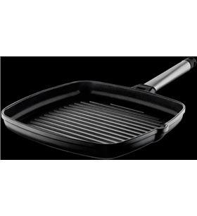 Castey grill con mango inoxidable 22 x 22 cm 6-g22