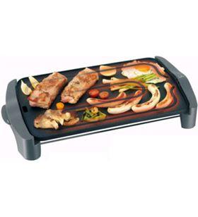 Plancha cocina Jata gr555a, 2500w, gris-negro, 46x