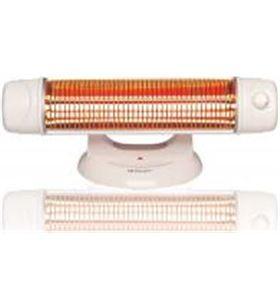 Radiador cuarzo Orbegozo bp5003, 1200w, 2 tubos, b bp5003a