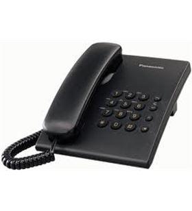 Panasonic telefono sobremesa kx-ts500exb negro kxts500exb