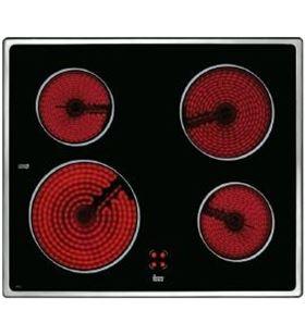 Teka placa vitro vtc b 4 quem 60cm marco inox encvtcbinox