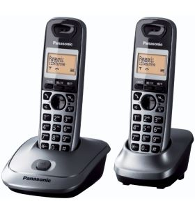 Telefono Panasonic kxtg2512spm, duo (1 tel + 1 sup