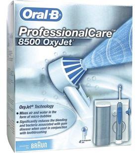 Braun irrigador dental 8500oxijet (md20), 4cabez md19md20