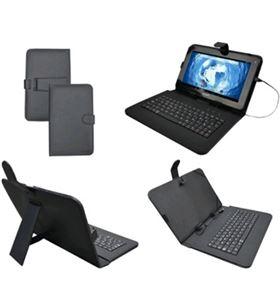 Funda tablet 9. Sunstech key9bk soporte+tecl negra