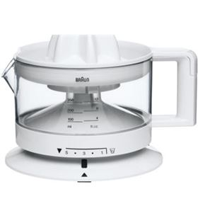 Braun exprimidor blanco. 350 ml, cant. pulpa regulable, cj3000