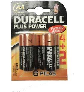 Braun pack 4+2 pilas alc. duracell aa (lr06) plus pow lr06mn1500ppo