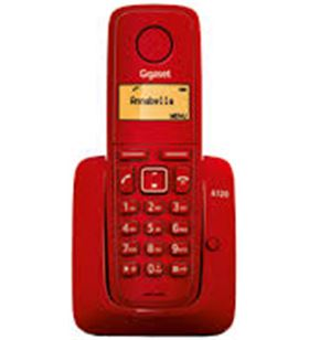 Siemens telefono inalambrico gigaset a120r, rojo a120rojo