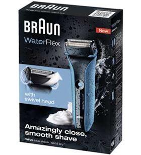Braun afeitadora waterflex blue waterflexblue