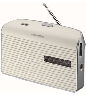 Radio portatil Grundig grn1520 music 60 blanca