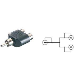 Adaptador Vivanco y rca macho a 2rca hembr 3/36-n - 41026