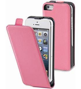 Funda slim rosa iphone 5 Muvit musli0072