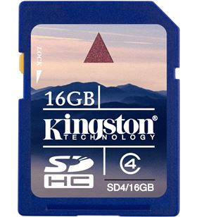Kingston sd4 16gb -tarjeta de memoria flash - 16g. sd16gb