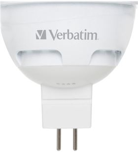 Verbatim bombilla led verbatin 52608 halogena gu5.3 5.5w 52609