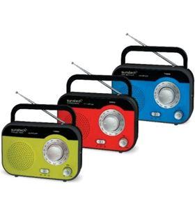 Radio de sobremesa Sunstech rps560rd ros560rd