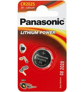 Pilas litio Panasonic cr-2025/1bp ( 1-blister ) 3v c2025