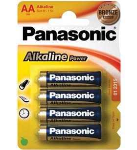Pilas alcalinas Panasonic 1.5v lr6 ap ( 4-blis lr06_4
