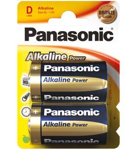 Pilas alcalinas Panasonic 1.5v lr20 ap ( 2-blis lr20_2