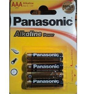 Pilas alcalinas Panasonic 1.5v lr03 ap ( 4-blis lr03_4