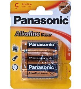 Pilas alcalinas Panasonic 1.5v lr14 ap ( 2-blis lr14_2