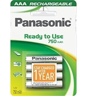 Pilas recargables Panasonic p064e ( blister 4aa)