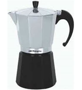 Cafetera aluminio Orbegozo kfm130, 1 taza, utiliz