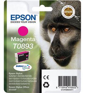 Cartucho tinta Epson c13t08934011 magenta