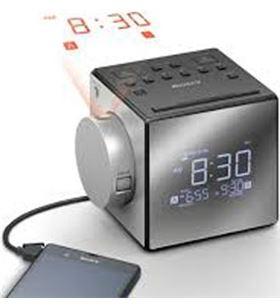 Radio reloj despertador Sony icfc1pjced, proyector