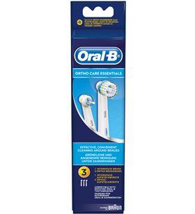 Recambio cepillo dental Braun ortho kit orthokit