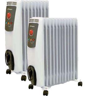 Radiador aceite Orbegozo ro2500c, 2500w, 12 elemeo