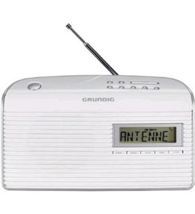 Radio portatil Grundig grn1400 music61, blanco
