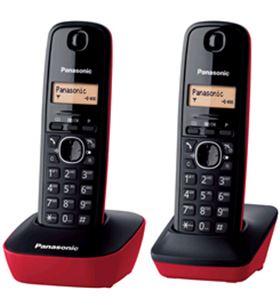 Telefono duo Panasonic kxtg1612spr, básico, ident.