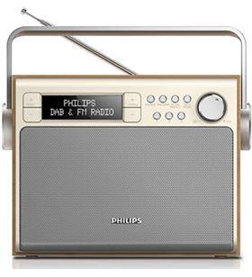 Radio portátil de diseño Philips ae502012, sinton