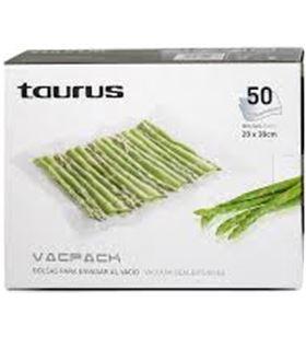 Bolsas vacpack Taurus 999185, 50 unds. de 30x35cm 03151184
