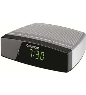 Radio reloj Grundig sonoclock 600 plata/negro gkr2310