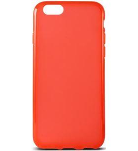 Funda flex Ksix tpu iphone 6 4.7 pulgadas roja b0925ftp06