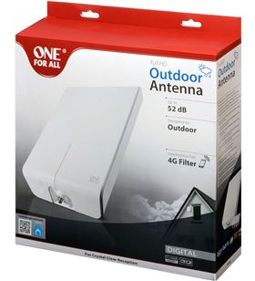 Antena de exterior One for all sv-9455 ( 52db ) sv9455