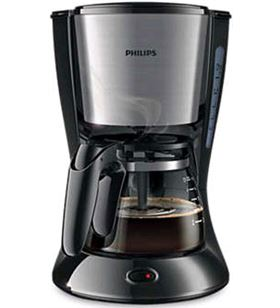 Philips cafetera goteo hd7435/20 4-6t negra/metal