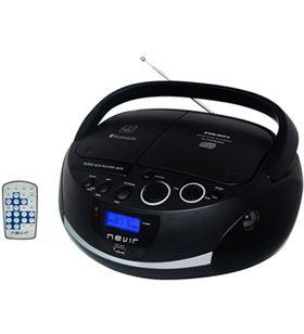 Radio cd Nevir nvr480ub bluetooth mp3 usb negra nvr480ubbk