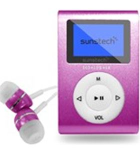 Mp3 4gb Sunstech dedaloiii rosa dedaloiii4gbpk