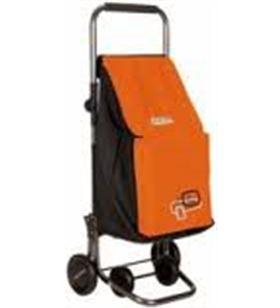 Playmarket play carro compra forzudo plegable naranja/negro 24200620
