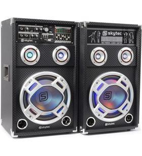 Skytec bafles activos usb karaoke 10 ka-10 178409