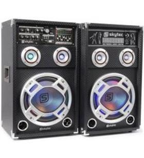 Skytec bafles activos usb karaoke 8 ka08 178406