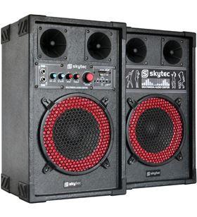 Skytec bafles activos usb karaoke 8 spb8 178438
