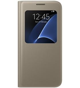 Samsung funda cover galaxy s7 oro efcg930cfegww efcg930pfegww