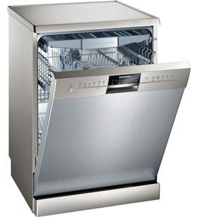 Siemens lavavajillas de libre instalación acero inoxidable antihuellas sn26p892eu